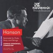 Hanson: Serenade for Flute, Harp, and Strings de Theodore Cella