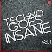Techno Goes Insane, Vol. 1 - EP de Various Artists