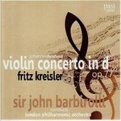 Brahms: Violin Concerto in D, Op. 77 de Fritz Kreisler