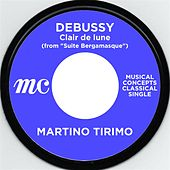 "Debussy: Claie de lune (from ""Suite Bergamasque) by Martino Tirimo"
