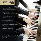Works for Piano 4 Hands by Julian Jacobson and Mariko Brown Piano Duo