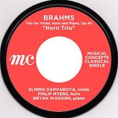Brahms: Horn Trio by Elmira Darvarova