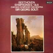 Beethoven: Symphonies Nos. 1 & 8 de Sir Georg Solti