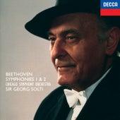 Beethoven: Symphonies Nos. 1 & 2 de Sir Georg Solti