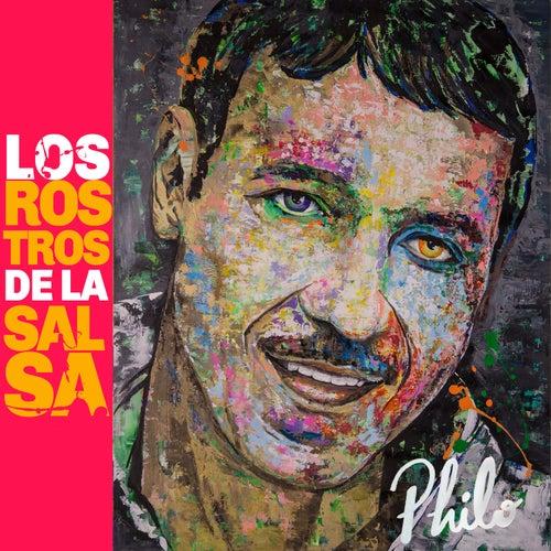 Los Rostros de la Salsa by Eddie Santiago
