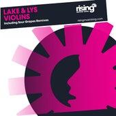 Violins by Lake