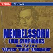 Mendelssohn Symphonies 1, 3, 4 & 5 by Various Artists
