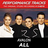 All (Premiere Performance Plus Track) by Avalon