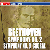 Beethoven: Symphony Nos. 2 & 9 by Cesare Cantieri