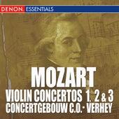 Mozart: Violin Concertos Nos. 1, 2 & 3 by Concertgebouw Chamberorchestra