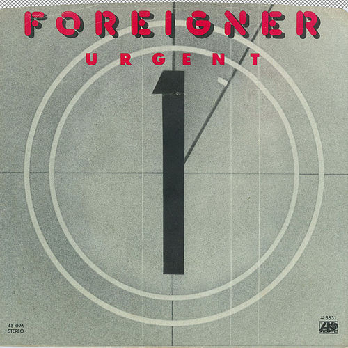 Urgent / Girl On The Moon [Digital 45] by Foreigner