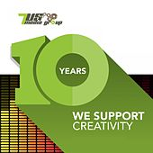 10 Years 7us (We Support Creativity) de Various Artists