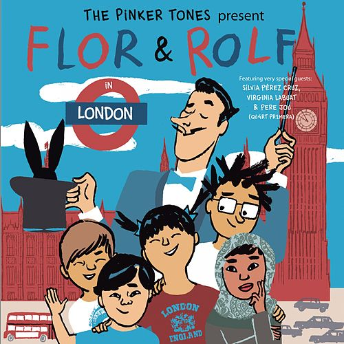 Flor & Rolf in London by The Pinker Tones