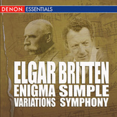 Britten: Simple Symphony - Elgar: Enigma Variations by Various Artists