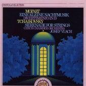 Mozart: Eine Kleine Nachtmusik, Divertimento - Tchaikovsky: Serenade for Strings von Czech Chamber Orchestra