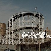 Beethoven opus 18/6 in B / Brahms opus 51/2 in a by Galatea Quartett