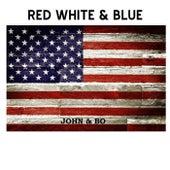 Red White & Blue by John F. Strauss
