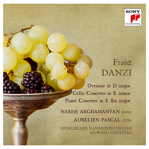 Danzi: Ouverture, Cello Concerto & Piano Concerto by Howard Griffiths