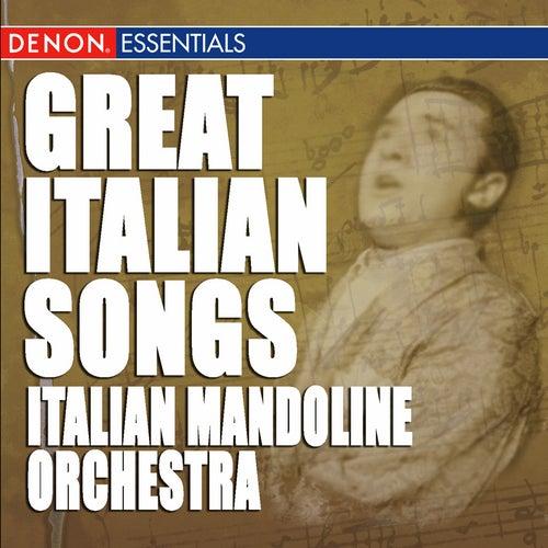 Great Italian Songs by Italian Mandoline Orchestra
