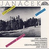 Janacek: Concertino, Capriccio, Nonsense Rhymes de Various Artists