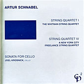 String Quartets 1 & 4/Sonata for Cello by Various Artists