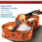 Rachmaninov: Cello Sonata; Vocalise / Sibelius: Malinconia / Dvorák: Polonaise von Elisabeth Leonskaja