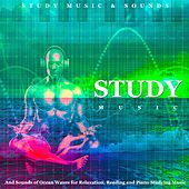 Study Music and Sounds of Ocean Waves for Relaxation, Reading and Piano Studying Music by Study Music
