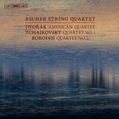 Dvořák: String Quartet No. 12 - Tchaikovsky: String Quartet No. 1 - Borodin: String Quartet No. 2 by Escher String Quartet