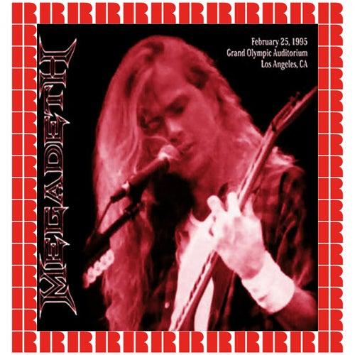 Grand Olympic Auditorium, Los Angeles, February 25th, 1995 de Megadeth