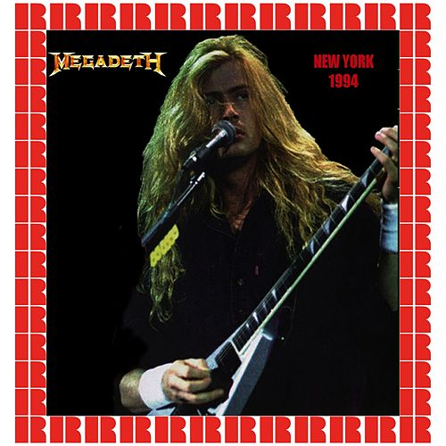 MTV Show, Webster Hall, New York, October 25th, 1994 by Megadeth