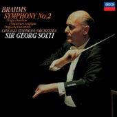 Brahms: Symphony No. 2; Tragic Overture de Sir Georg Solti