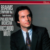 Brahms: Symphony No. 1; Variations On A Theme By Haydn von Riccardo Muti