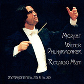 Mozart: Symphonies Nos. 25 & 39 by Riccardo Muti
