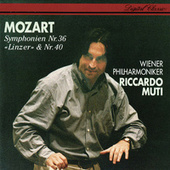 Mozart: Symphonies Nos. 36 & 40 by Riccardo Muti