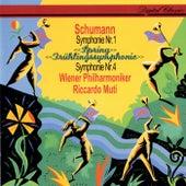 Schumann: Symphonies Nos. 1 & 4 by Riccardo Muti