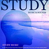 Study Music for Reading and Asmr Ocean Waves Sounds for Relaxation, Deep Focus and Guitar Studying Music by Study Music