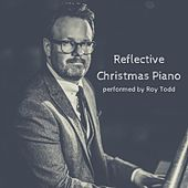Reflective Christmas Piano by Roy Todd