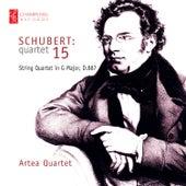 Schubert: String Quartet No. 15 von Artea Quartet