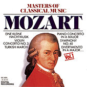 The Masters of Classical Music - Mozart by Various Artists