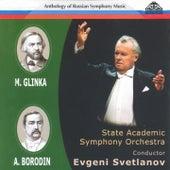 Anthology of Russian Symphony Music: Mikhail Glinka and Alexander Borodin de Evgeny Svetlanov The State Academic Symphony Orchestra