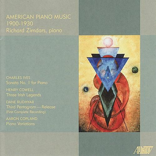 American Piano Music: 1900-1930 by Richard Zimdars