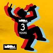 Moom Records: 3 Years Va - EP de Various Artists