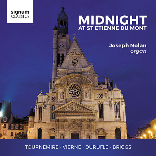 Midnight at St Etienne Du Mont by Joseph Nolan