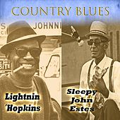 Country Blues, Lightnin´Hopkins & Sleepy John Estes by Various Artists
