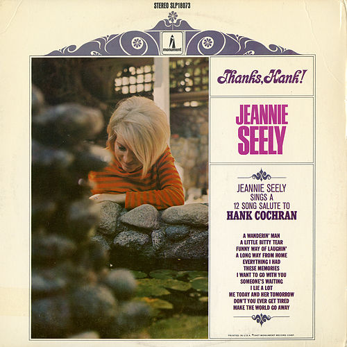 Thanks, Hank! by Jeannie Seely