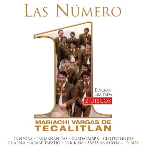 Las Numero 1 Del Mariachi Vargas De Tecalitlan by Mariachi Vargas de Tecalitlan