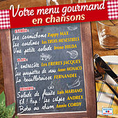 Votre menu gourmand en chansons de Various Artists
