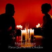 Para Que No Me Olvides by Miguel Enrique