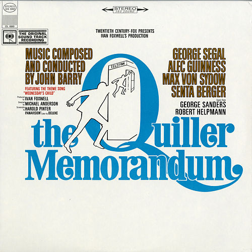 The Quiller Memorandum (Original Sound Track Recording) by John Barry