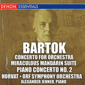 Bartok: Concerto for Orchestra, Miraculous Mandarin Suite, & 2nd Piano Concerto by O.R.F. Symphony Orchestra